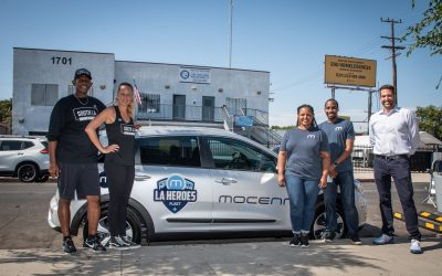 Donating Wheels For Meals: Mocean Carshare Launches Partnership With South LA Cafe to Help Fresh Meals and Groceries Get to Community Members in Need